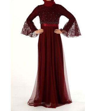 ALLDAY Evening dress - Bordo