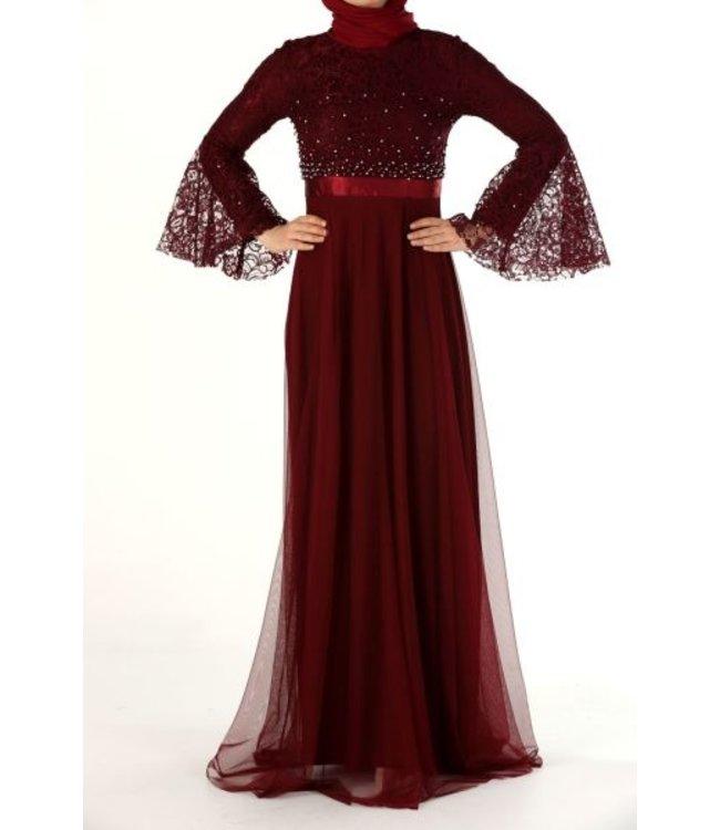 ALLDAY Evening dress - Bordo