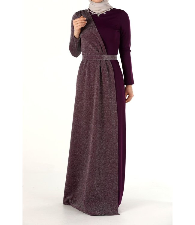 ALLDAY Hijab Avondjurk - Paars