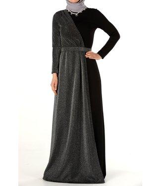 ALLDAY Hijab evening dress - Black