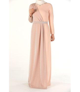 ALLDAY Hijab avondjurk - Zalm