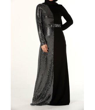 ALLDAY Hijab Avondjurk - Zwart