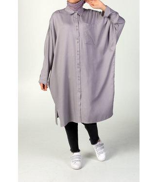 ALLDAY Tuniek met vleermuismouwen - Lavender