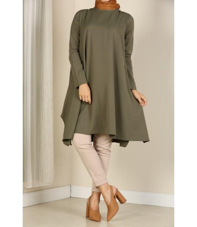 ALLDAY Loose-fitting tunic - Khaki
