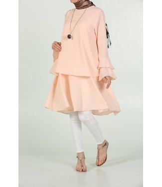 ALLDAY Tuniek met volantmouwen - Licht roze
