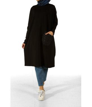 ALLDAY Long tunic - Black