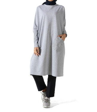 ALLDAY Long tunic - Gray
