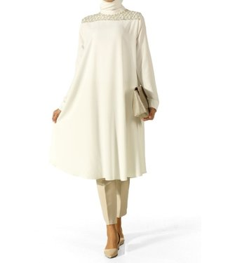 ALLDAY Long tunic - Ecru