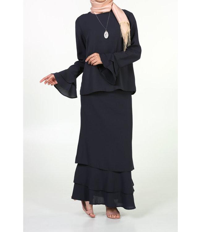 ALLDAY Hijab set - Marineblauw