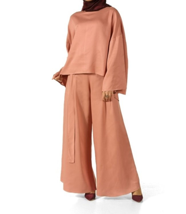 ALLDAY Hijab set - Pudra