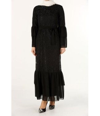 ALLDAY Lace dress - Black