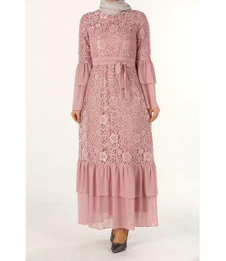 ALLDAY Lace dress - Pink