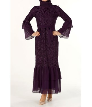 ALLDAY Lace dress - Purple