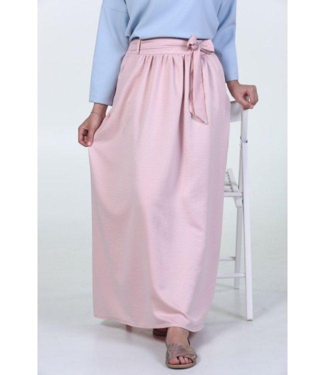 ALLDAY Long Skirt - Pink