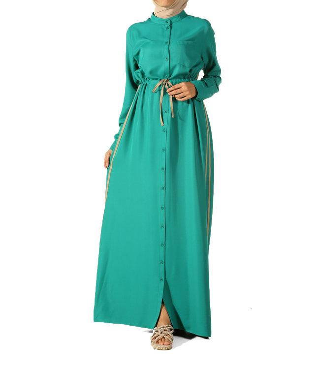 ALLDAY Long dress - emerald
