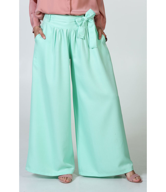 ALLDAY Wide trousers - Mint