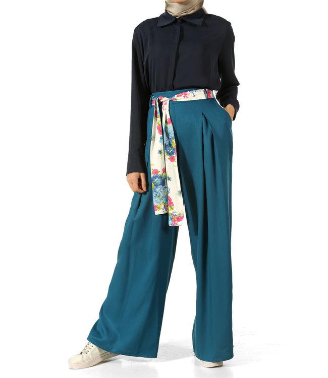ALLDAY Wide pants - blue