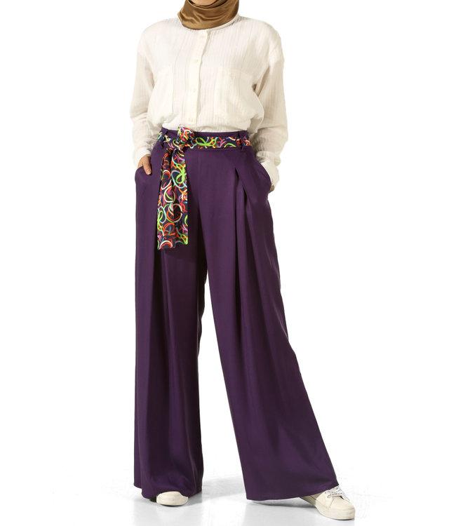 ALLDAY Wide pants - Purple