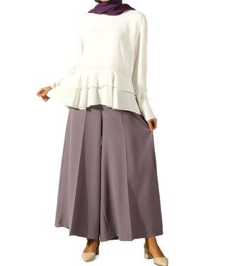 ALLDAY Wijde broek - Licht paars
