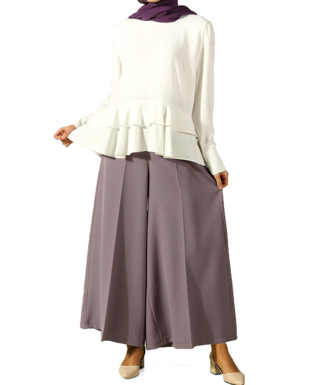ALLDAY Wide trouser - Light purple