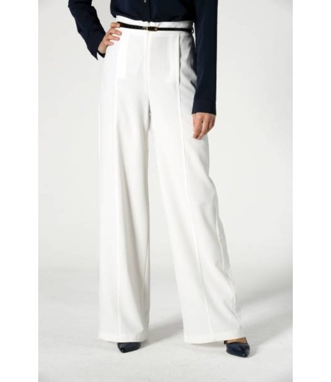ALLDAY Elegant trousers - ecru