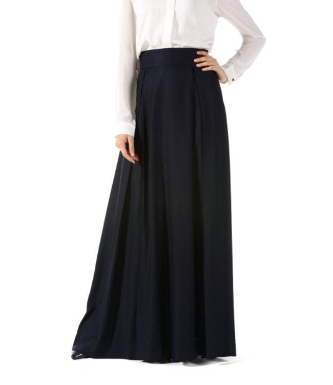 ALLDAY Pleated skirt - dark blue