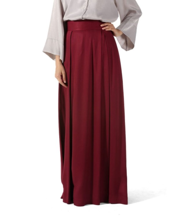 ALLDAY Pleated  skirt - Begonia