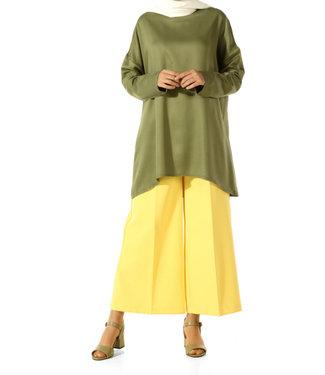 ALLDAY Blouse - Olive green