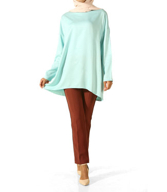 ALLDAY Blouse - Pastel mint green