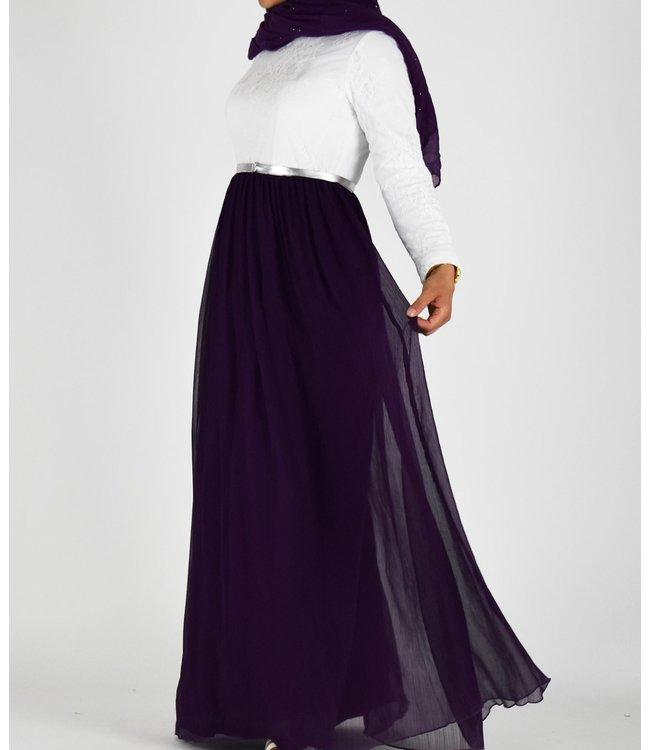 Sófani Lace dress - Purple