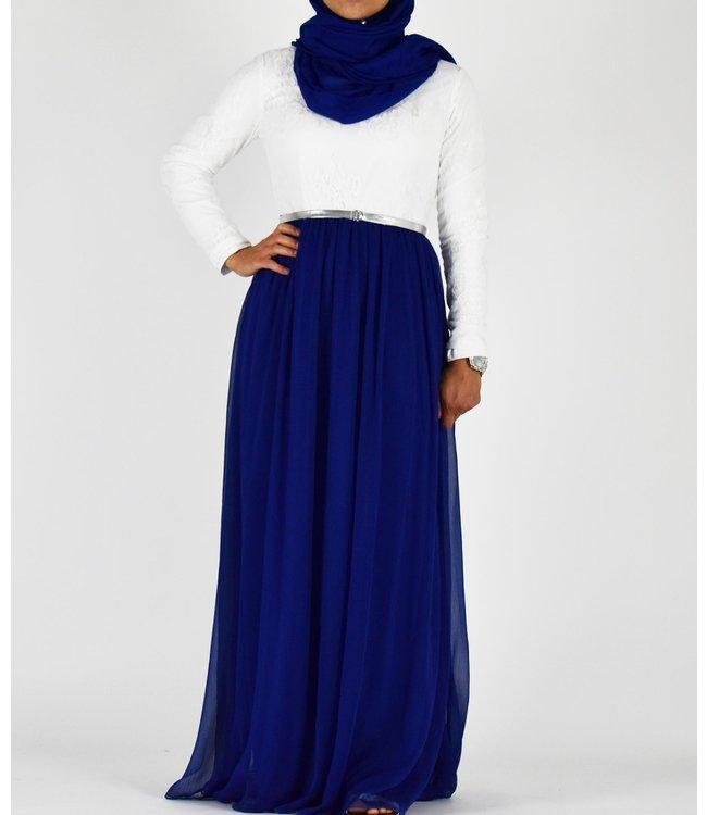 Sófani Kanten jurk - Blauw