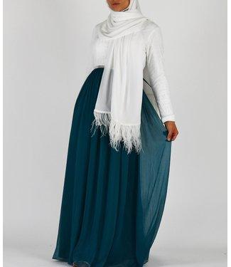 Sófani Kanten jurk - Smaragd
