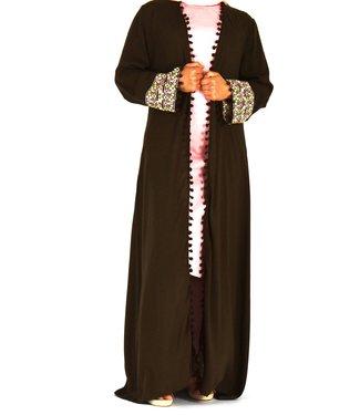Sófani Long kimono Brown