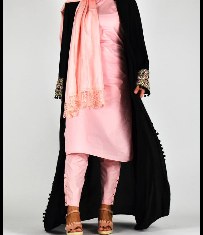 Sófani Long kimono - Black