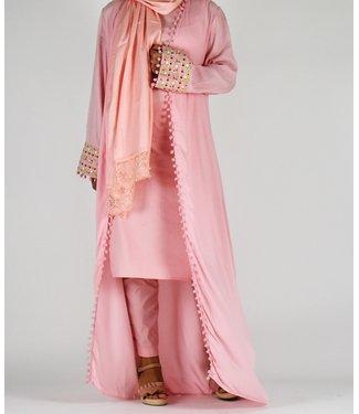 Sófani Long kimono Pink
