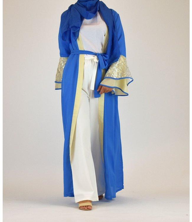 Sófani Lange kimono - Blauw