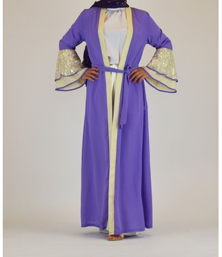 Sófani Long kimono - Violet