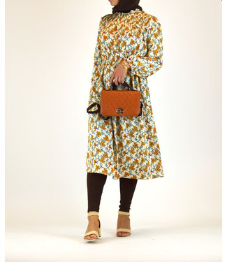 Outfit midi jurk en legging