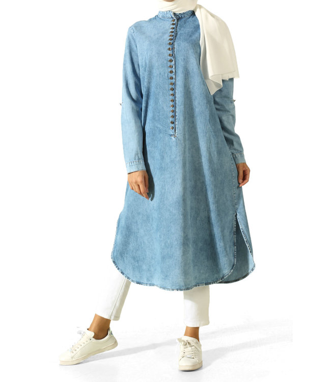 ALLDAY Long denim tunic