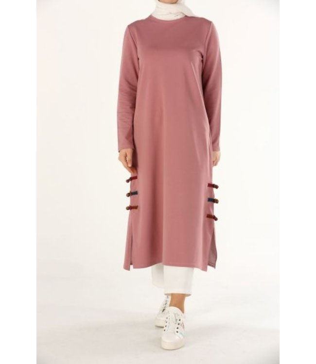 ALLDAY Long sweater - Pink