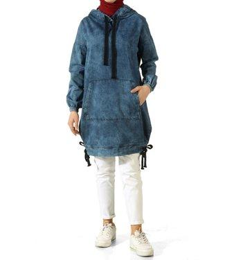 ALLDAY Denim hoodie