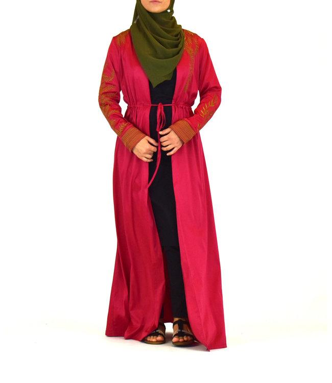 Sófani Kimono - Crimson
