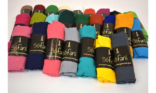 Polyster scarves