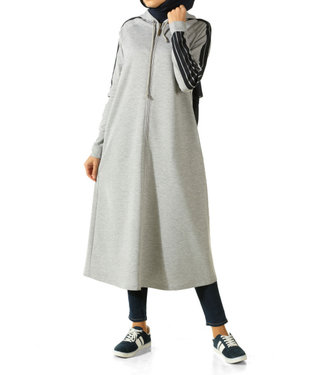 ALLDAY Long hoodie - Grey