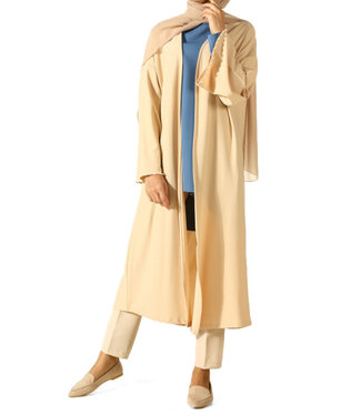 ALLDAY Long cardigan - Beige