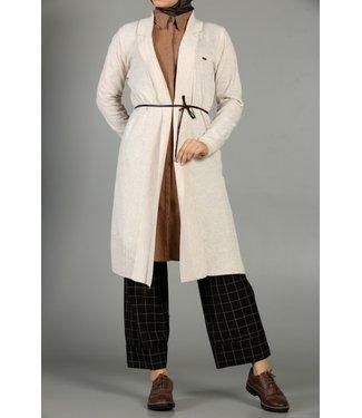 ALLDAY Long cardigan - Beige