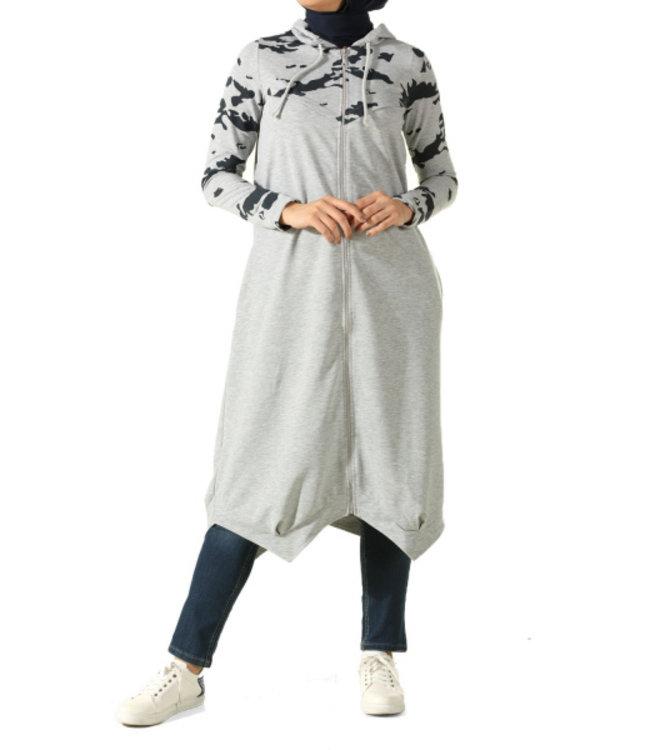 ALLDAY Military cardigan - grey