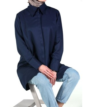 ALLDAY Blouse - Donkerblauw