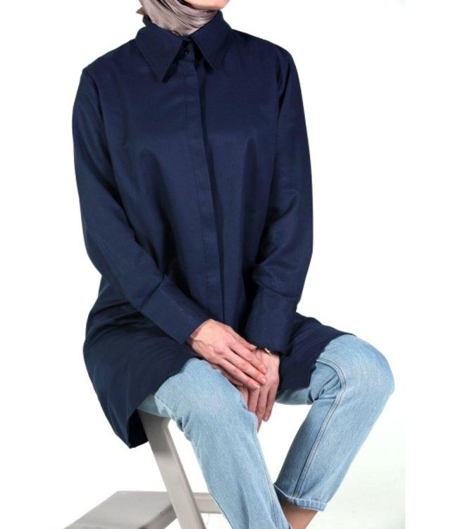 ALLDAY Blouse - Dark blue