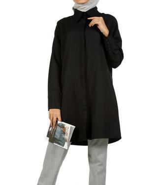 ALLDAY Lange blouse - Zwart